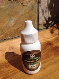 Natural Sage Antimicrobial Ear Oil for Fungal/Bacterial Infections & Ear Mites