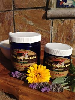 Organic Antibiotic Salve for Horses & Dogs with Wounds and Skin Infections