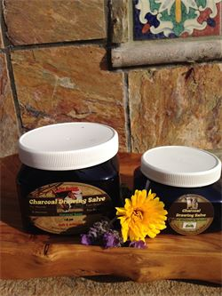 Charcoal Drawing Salve for Dogs & Horses to Draw Toxins, Heal Abscesses on Skin & Hoof