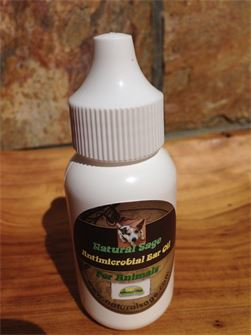 Organic Ear Oil for Dogs, Cats & Horses to Heal Fungal and Bacterial Infections and Kill Ear Mites.