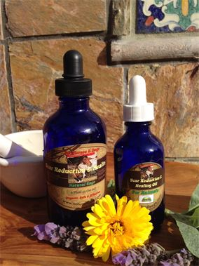 Scar Reduction Healing Oil for Proud Flesh & Keloids in Equines
