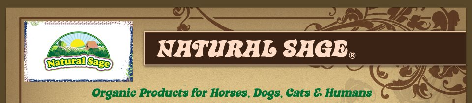 Natural Sage - Organic plant products for you and your pets